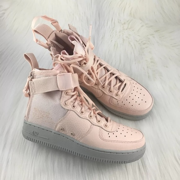 discount 844af dd2d8 Womens Nike SF Air Force 1 Mid Boot Sneakers
